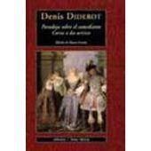 Paradoja sobre el comediante; Cartas a dos actrices / Denis Diderot ; edición, traducción y notas de Mauro Armiño.  [Madrid] : Valdemar, 2003