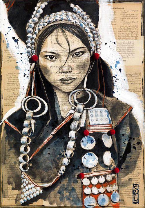 Stéphanie Ledoux - Carnets de voyage: REPROS
