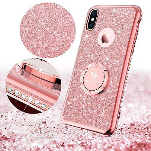 Iphone X Case Iphone 10 Case Glitter Cute Phone Case Girls With