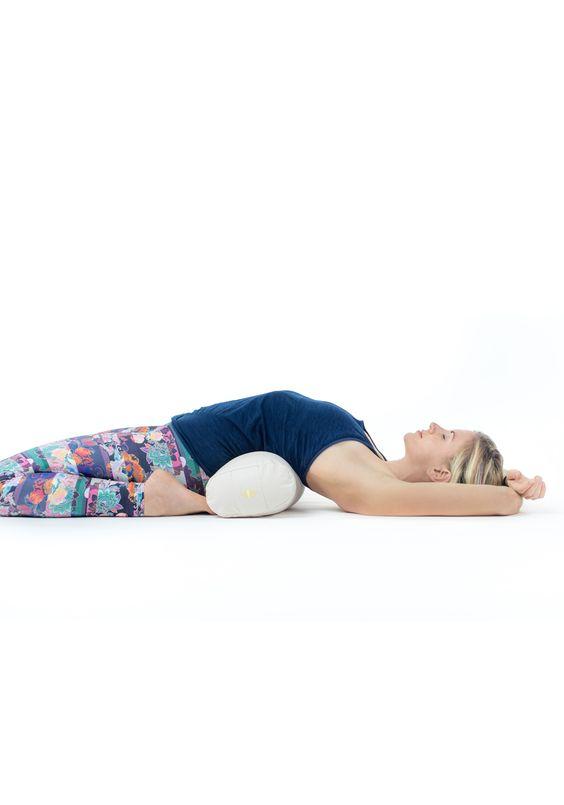 Yogakissen, Yoga Bolster S für Yin Yoga / Restorative Yoga Übungen ...