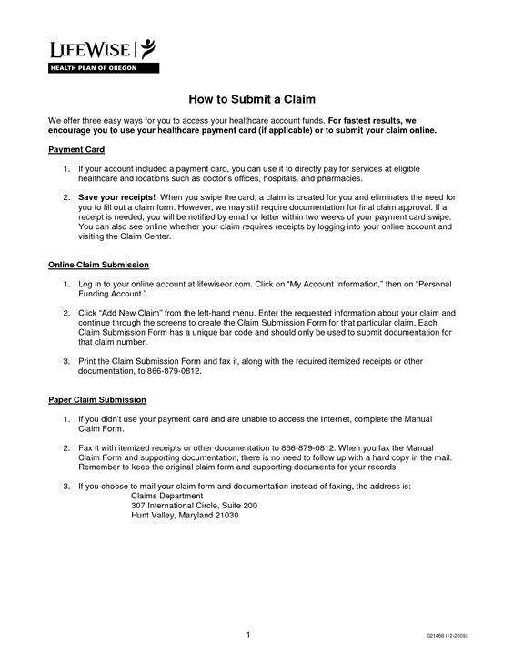 authorization letter insurance claim example letters are used for - sample medical claim form