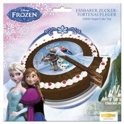 Zucker Tortenaufleger Frozen 16cm
