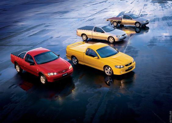 2004 Ford Ba Mkii Falcon Ute Ford Falcon Ford Falcon Australia Ford