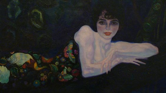 Retrato de Sonia de Klamery
