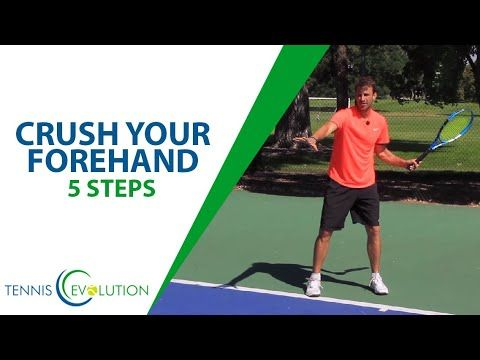 Tennis Forehand Create Crazy Power In 5 Steps Youtube Tennis Forehand Tennis Tennis Lessons
