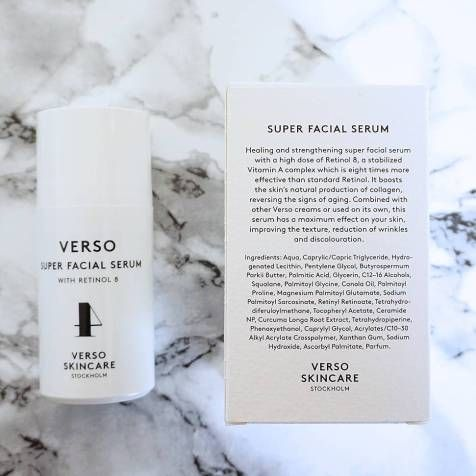 Verso Skincare Turn Back Time On Your Skin A Model Moment Verso Skincare Facial Serum Skin Care