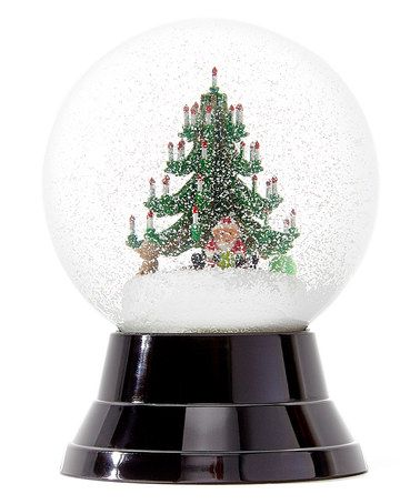 Another great find on #zulily! Perzy Christmas Tree & Gifts Snow Globe #zulilyfinds