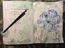 Bildergebnis für Art journaling aquarell