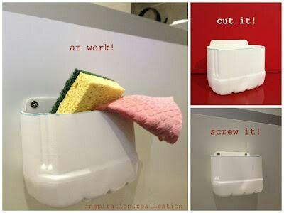 Para poner las esponjitas
