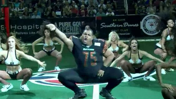 Shake it! Watch this Arizona 'football player' bust a move