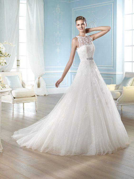 Vestido de novia, modelo Hamatt de St. Patrick 2014  www.sanpatrickgranada.es