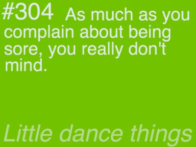 i don't mind if it comes from dance @Melissa Bryant Mitcham