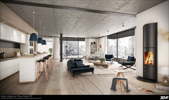 Galerie 3DVF.com : Interor design par Miysis Studio 3D