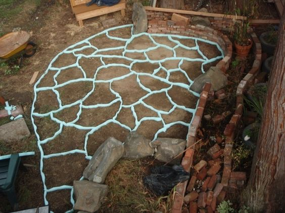Foam Forms For A Concrete Patio Gardening Joys