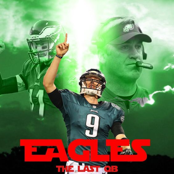 Nick Foles Is The Last Qb The Fate Of The Philadelphiaeagles Season Is In His Hands Let S Get It Done Winforw Eagles Football Philadelphia Eagles Eagles