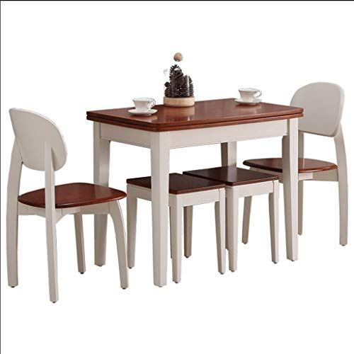 Side Table Nordic Wooden Kitchen Dining Table And Chairs Set