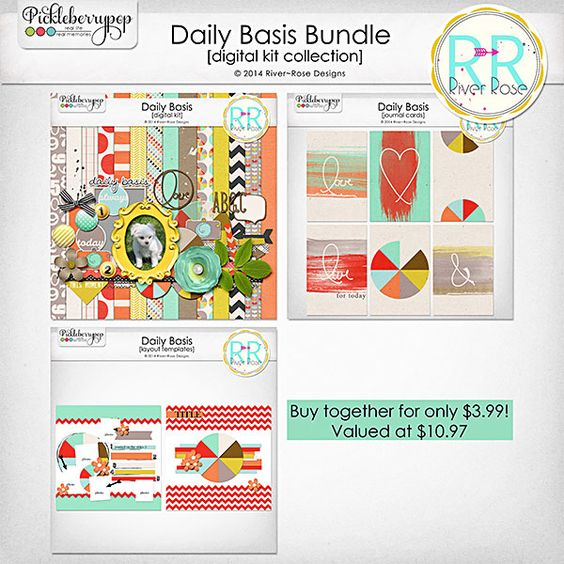 Daily Basis Bundle by River~Rose