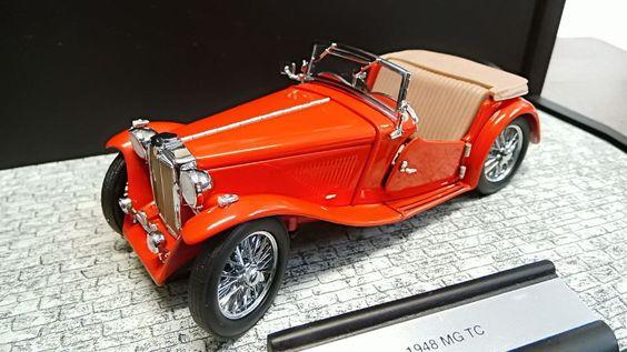 Franklin Mint 1:24 MG TC 1948 A 322 Neuwertig in Modellbau, Auto- &…