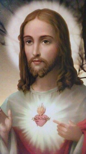 Sagrado coração de Nosso Senhor Jesus Cristo.