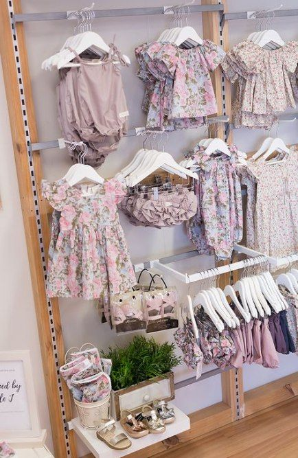 26 Trendy Clothes Shop Design Ideas Small Clothes Kids Clothing Store Design Store Design Boutique Baby Store Display