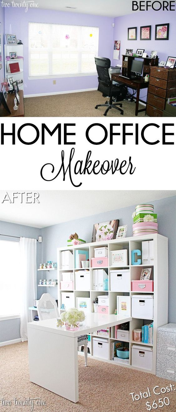 Pinterest the world s catalog of ideas - Home office design ideas on a budget ...