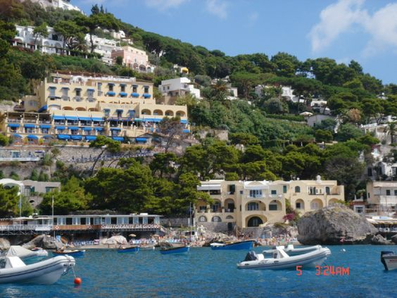 capri italy how to get there