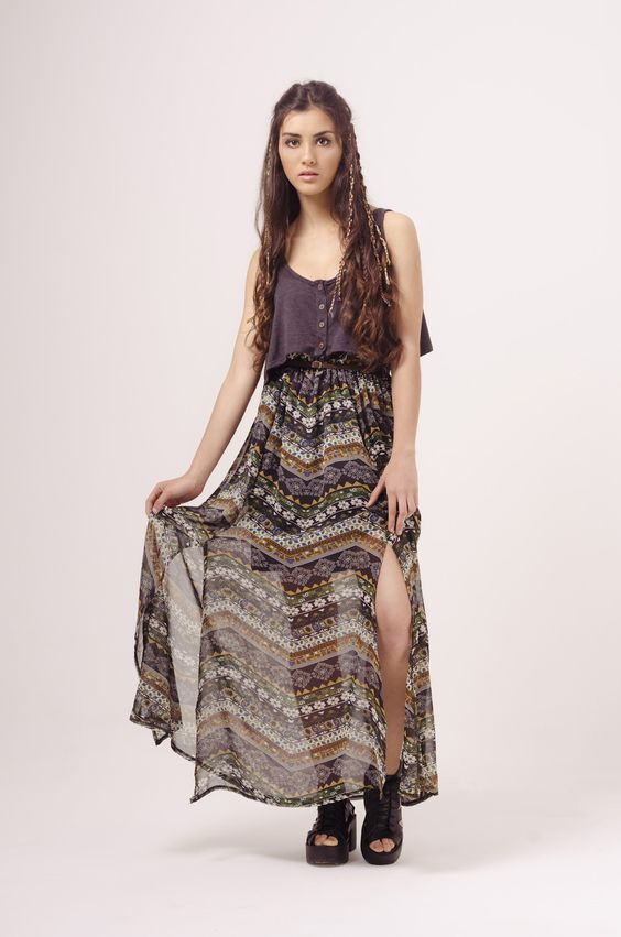 #fashion #clothing #dress #boho #hippie #style