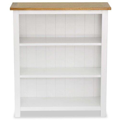 Izabella Bookcase Brambly Cottage Size H82 X W72 X D22 5cm In