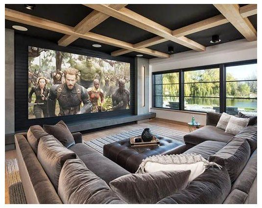 31 Home Theater Ideas That Will Make You Jealous 18123 Dream House Dreamhouse 31 Home Theater Ideas Home Cinema Room Home Theater Rooms Home Theater Decor