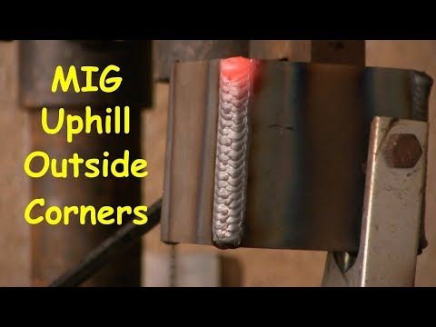 Vertical And Overhead Welding With A Mig Welder Youtube Welding Welding Tips Mig Welder