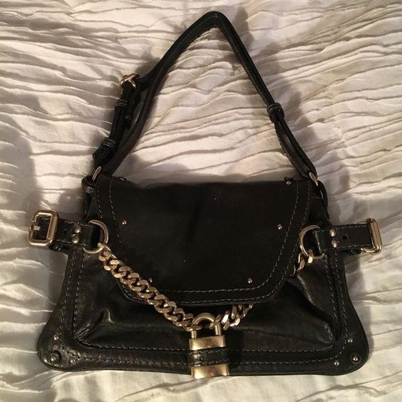 chloe white leather handbag - Chloe Paddington Capsule Shoulder Bag   Chloe Bag, Black Canvas ...