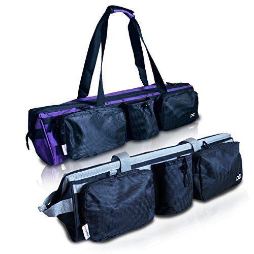 Yogaaddict Yoga Mat Tote Gym Bag Supreme Compartment For Yoga Block Easy Access Yogaaddict