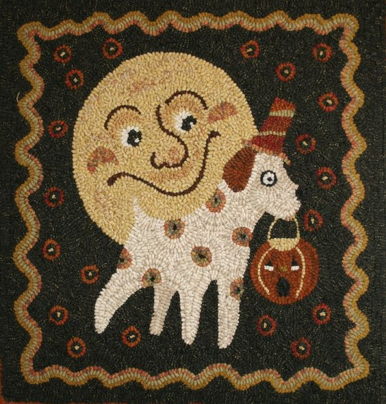 Primtive rug hooking patterns and supplies located in Logan Utah. Unique…