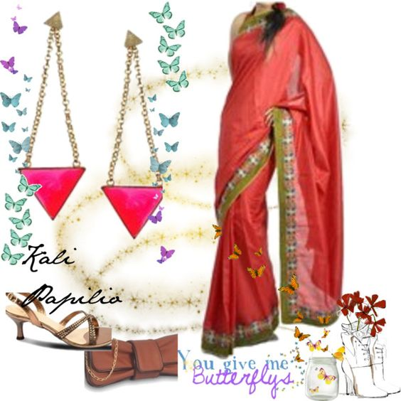 """Going for Lunch with your and in-laws? Go the Desi way - Smart and Stylish!"" by iamabhishiktar on Polyvore"