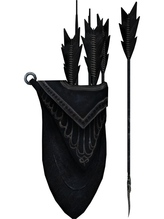 Skyrim Ebony Arrows