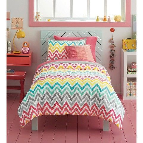 Printed chevron comforter set xhilaration comforter Xhilaration home decor