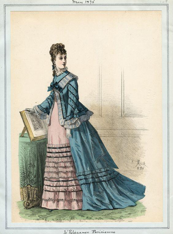 L'Elegance Parisienne May 1875 LAPL