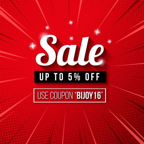 Use Coupon Code Bijoy16 And Enjoy Up To 5 Discount Gameon Victoryday Discount Offer Promotion Big Sales Banner Sale Banner Banner Design