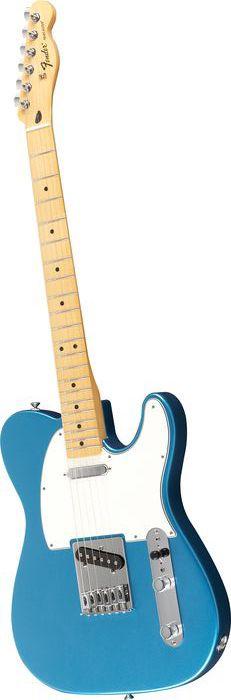Fender Standard Telecaster Electric Guitar Lake Placid Blue Gloss Maple Fretboard