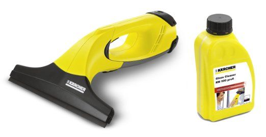 Karcher WV50 Cordless Window Vacuum PLUS Glass Cleaner Concentrate: Amazon.co.uk: DIY & Tools