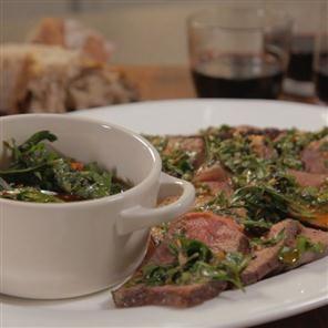 Succulent Sirloin Steak with Chimichurri Sauce Recipe | delicious. Magazine free recipes