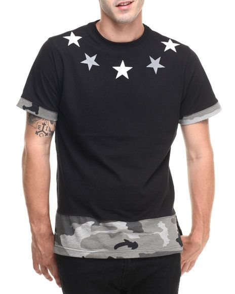 Ringer Camo Tee - that should be mine!
