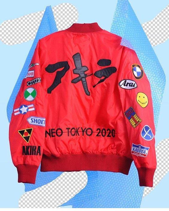 Sink00 - apparelk: Akira Bomber JACKET  get yours @...