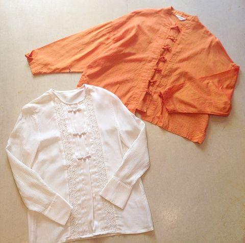 オレンジチャイナシャツ :: 高円寺の古着屋  ガイジン  のブログ |yaplog!(ヤプログ!)byGMO