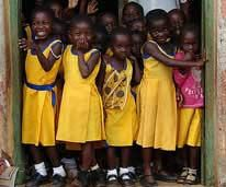 African Orphans that CommonThreadz Provides School Uniforms to.