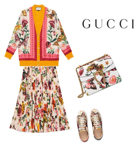 """""""Presenting the Gucci Garden Exclusive Collection: Contest Entry"""" by liakdn ❤ liked on Polyvore featuring Gucci and gucci"""