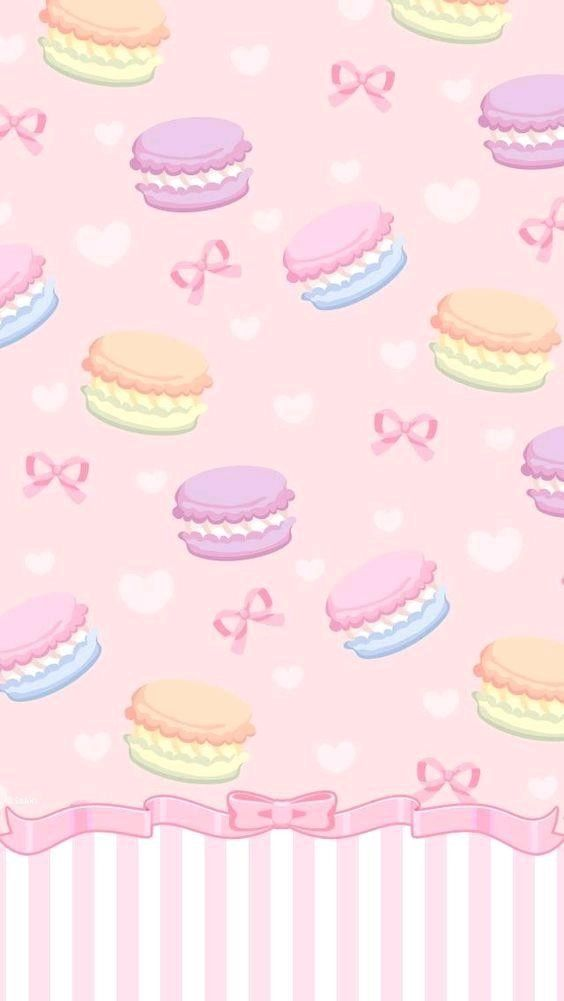 Pin By 小樂 樂 On 背景 Wallpaper Iphone Cute Macaron Wallpaper