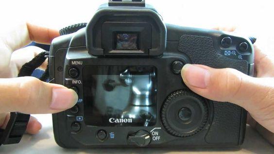 Canon Eos 20d 8 2mp Digital Slr Camera Review Tutorial Camera Reviews Digital Slr Camera Digital Camera