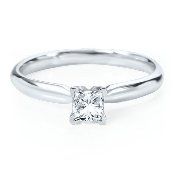 Smart Value® 3/8 ct. Diamond Solitaire Engagement Ring in 14K Gold