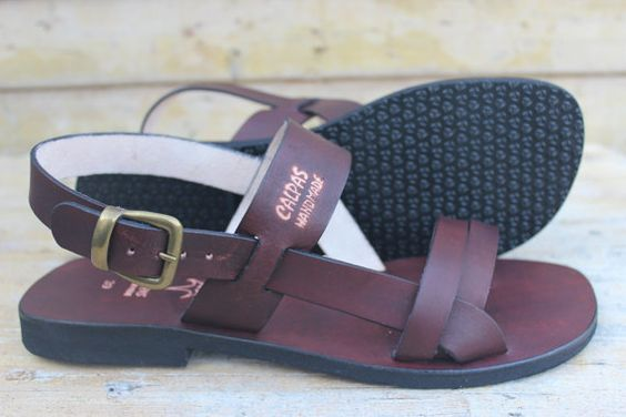 Leather Handmade Sandals Pride For Men And Woman By by Calpas